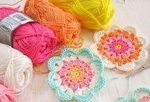 crochet motivs and appliques