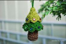 Xmas crocheting