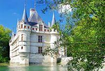 Loire Valley - Région Centre / Départements du Cher, de l'Eure-et-Loir, de l'Indre, de l'Indre-et-Loire, du Loir-et-Cher et du Loiret. / by Scrap Voyages Nature