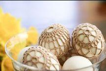 Easter crocheting
