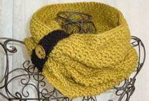 crochet shawls/cowls/neck warmers