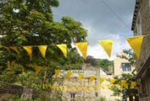 A Grand DeParty - celebrating Le Tour in the South Pennines / The Grand Depart of the 2014 Tour de France races through the South Pennines on July 6.  Here are some of the ways our people and places are celebrating!