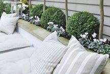 Garden ideas for a small garden / Ideas to maximise space in a small garden