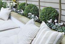 Garden ideas for a small garden / Ideas to maximise space in a small garden