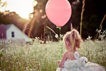 Balloon Photographs / Photographs with balloons in
