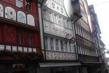 Appenzell, Switzerland / I had the chance, last week, to visit the town of Appenzell, canton of Appenzell Innerrhoden in Switzerland. The restored buildings are beautiful