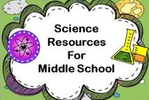 Science Resources For Middle School Grades 6-8 / Share your middle school science resources and ideas on this board.  Be sure to include at least one free resource.