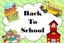 """All Things """"Back to School"""" / Anything related to getting the school year up and running should go on this board.  Post as much as you want but please offer some freebies as well."""
