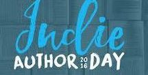 Indie Book Day 2016 / A board to celebrate Indie authors for Indie Book Day 2016