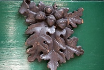 wood carving and Iron manufact