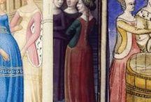Finestre d'Inferno - sottoabito visibile - Side splitted dresses