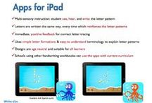 Awesome Apps / App by Powerful Printing - developmentally sound app supported by research and years of educational experience. The Write-On Handwriting app fully engages students through multi-sensory instruction of letter and number patterns. The design is age neutral, provides both instruction and practice modes, and is suitable for all learners. Check out the review at: http://www.bestappsforkids.org/education/numbers/write-on-handwriting-powerful-printing-letters-numbers/