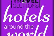 Hotels Around the World / From grand city hotels to intimate inns, hotels...we love them! Here are some of the hotels around the world you really should consider booking a stay in. If you would like to join this group board of food loving travellers, email us at info@travelgluttons.com along with your Pinterest user name. Please note that this is not a place to promote spam (we don't mean the food).