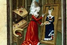 Donne artiste, ma non solo donne- Medieval artists painters-