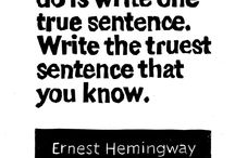 Teaching Writing / Just write and teach writing passionately. / by Erin T.