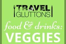 Food & Drinks: Veggies / Veggies: Make sure you get your 5 a day (with some fruit, of course)!