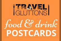 Food & Drink Postcards / This board is full of all the food and drinks you would send home instead of a postcard, if you could.