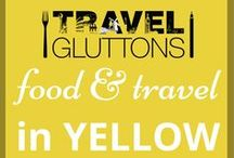 Food & Travel in Yellow / As welcomed as the sun, yellow is the perfect colour to brighten up your day. And to help, here's a board full of travel and food that has been inspired by the colour yellow.