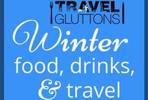 Winter Food, Drinks, & Travel / There's no reason to hibernate this winter when there are new travel destinations to explore, delicious food to try and cozy drinks to sip on.