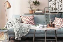 Comfy pretty home