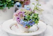 Spring Wedding / spring wedding decorations, inspiration, blossoms and pinks http://1stsetting.co.uk/