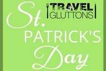 St. Patrick's Day / May the luck of the Irish be with you with these St Patrick's Day inspired travel and food pins.