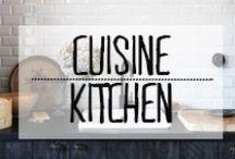 Cuisine - Kitchen / #kitchen #cuisine #table #repas #déjeuner #dîner #MomentsEnFamille