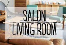 Salon - Living Room / #salon #livingroom #PieceaVivre #famille #canape
