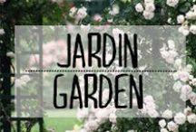 Jardin - Garden / #jardin #garden #vert #exterieur #outside #chaiselongue #soleil #hamac #arbre #pelouse