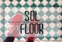 Sol - Floor / #floor #sol #surface #parterre #materiaux #texture #décoration #deco #inspiration #domus #idées