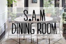 Salle à Manger - Dining Room / #diningroom #salleamanger #repas #famille #fete #festivites #table #invitation #décoration #deco #inspiration #domus #idées