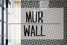 Mur, Peinture & Papier Peint - Wall, Paint & Wallpaper / #mur #wall #peinture #papierpeint #paint #wallpaper #papier #motifs #techiques #bricolage #renew #décoration #deco #inspiration #domus #idées
