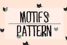 Motif - Pattern / #motif #pattern #inspiration #forme #décoration #deco #domus #idées