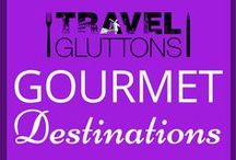 Gourmet Destinations / Wouldn't it be nice to discover some mouth watering dishes while you're on holiday? Let's travel the world to find the ultimate gourmet destinations. If you would like to join this group board of food loving travellers, email us at info@travelgluttons.com along with your Pinterest user name. Please note that this is not a place to promote spam (we don't mean the food).