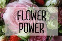 En fleurs - Flower Power / #fleur #flower #beautiful #perfume #red #roses #plante #bouquet #compositions #décoration #deco #inspiration #domus #idées
