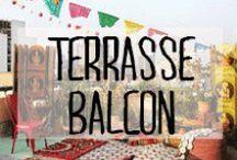 Terrasse & Balcon - Terrace & Balcony / #terrasse #balcon #interieur #exterieur #balcony #outside #sunshine #décoration #deco #inspiration #domus #idées