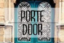 Porte - Door / #doors #knock #portes #frapperfort #welcome #bienvenus #maison #sweethome #décoration #deco #inspiration #domus #idées