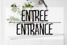 Entrée - Entrance / #entrance #welcome #warm #home #house #comein #open #entrée #bienvenu
