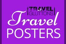 Travel Posters / Travel posters that make us even more eager to hop on the next plane. Where would you travel to if money was no issue?