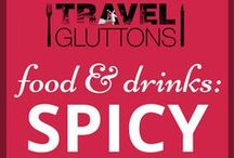 Food & Drinks: Spicy / Food and drinks that are so spicy they will make your tongue sweat. Go on, we dare you!