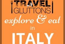 """Explore & Eat in Italy / It is no secret that Italian food is some of the best food you can find, but it's not just the pasta, pizza and wine that should tempt you to visit Italy. Their art, coastal views and unique """"La Dolce Vita"""" culture will make the good food just feel like an added bonus."""