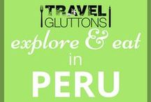 Explore & Eat in Peru / With the coast providing an abundance of fresh seafood and the Amazon rainforest delivering delicious seasonal fruits, it's not surprising that Peru is one of the world's emerging food destinations. Peru also translates to paradise for the active traveler, from downtown Lima to smack-dab nowhere.