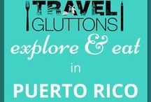 Explore & Eat in Puerto Rico / A blend of Spanish, Indian and African influences, Puerto Rico has tropical forests, sandy beaches and an ever-expanding dining and nightclub scene. And here are some of the best things to see and eat while you are there.