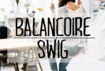 Balançoires d'intérieur - Home swing / #balancoire #swing #décoration #deco #inspiration #domus #idées