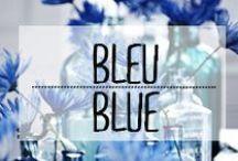 Bleu - Blue / #bleu #blue #azur #décoration #deco #inspiration #domus #idées