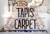 Tapis - Carpet / #tapis #carpet #sol #décoration #deco #inspiration #domus #idées