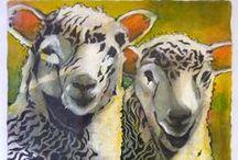 Jacqui Lauder BA(Hons) 'baa sheep' series / Jacqui Lauder BA(Hons): featured artist at Andy Manuell Stonemason and Art Gallery, 108 South Street, Tarring, Worthing, West Sussex BN14 7NB Contact Jacqui via www.andymanuellstonemasons.co.uk