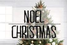 Noël - Christmas / #Noël #christmas #decembre #sapin #avent #december ##décoration #deco #inspiration #domus #idées