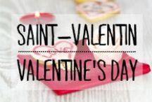 Saint Valentin / #saintvalentin #valentine #rouge #rose #love #coeur #amour #rose #bouquet #cupidon #décoration #deco #inspiration #domus #idées