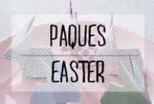 Pâques - Easter / #paques #easter #lapin #bunny #chocolats #chocolates #oeufs #décoration #deco #inspiration #domus #idées